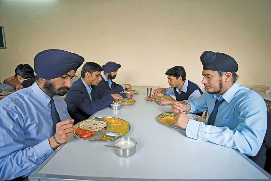 IIAE College canteen
