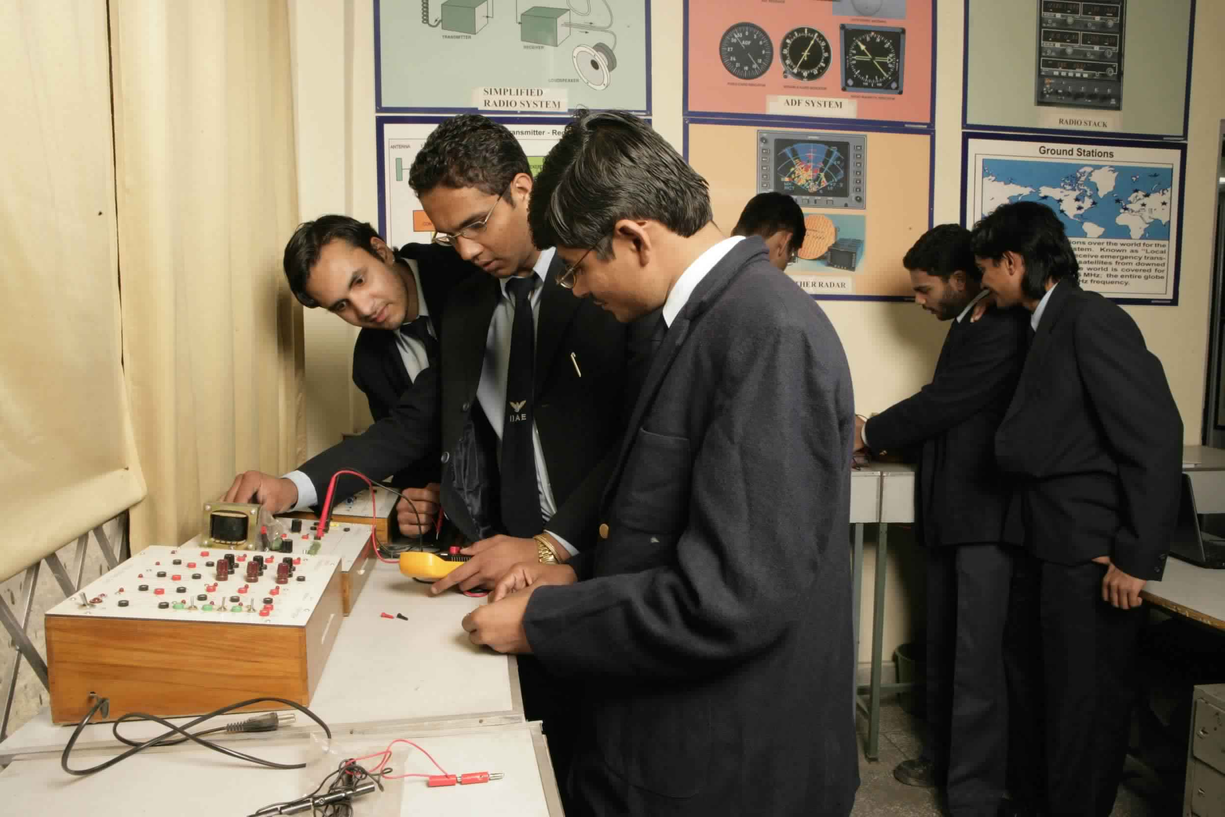 Workshop of Aircraft Engineering College