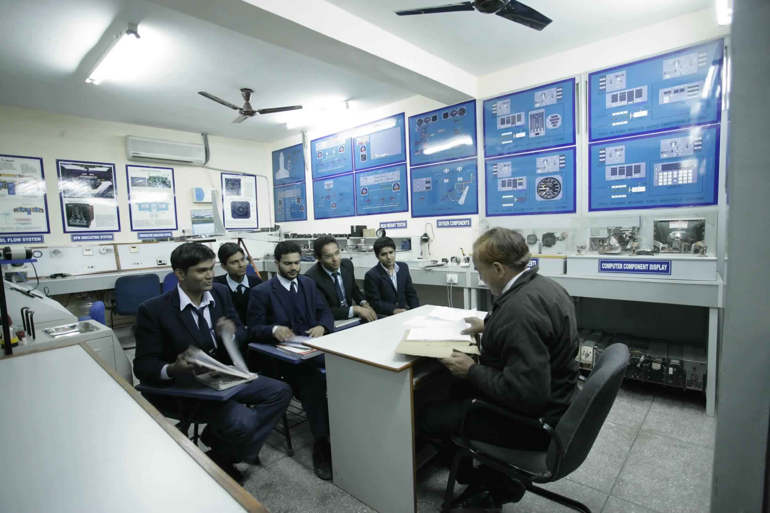 Training in Institute of Aeronautics And Engineering